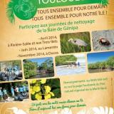 Grand Touloulou - nettoyage de la Baie de Génipa