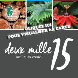 Le Parc naturel régional de la Martinique vous souhaite ses meilleurs voeux 2015 !