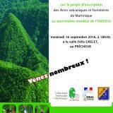 Prêcheur : Réunion Publique Unesco