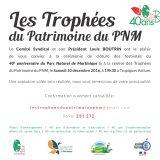Cérémonie de clôture des festivités du 40ème anniversaire du Parc Naturel de Martinique