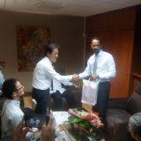 Café de Martinique : rencontre entre la délégation japonaise et le président de l'exécutif de la CTM