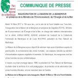CP Inauguration Maison de la Mangrove