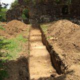 Fouilles archéologiques au château Dubuc
