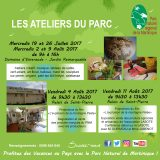 Les ateliers du Parc Naturel de Martinique